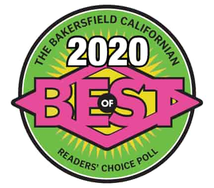 "The Bakersfield Californian 2020 ""Best Of"" Award"
